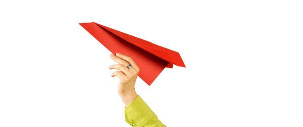 Business-Coaching-Papierflieger